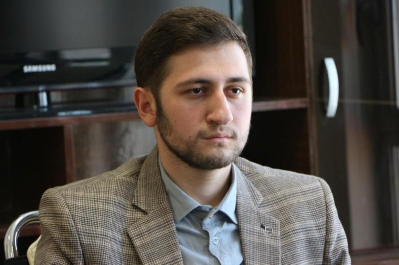 مراسم معارفه مسئول جدید بسیج دانشجویی دانشگاه علوم پزشکی اردبیل+تصاویر