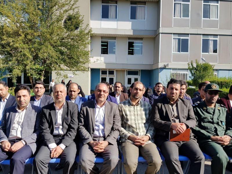 مراسم افتتاحیه اردوهای جهادی دانشگاه فرهنگیان اردبیل