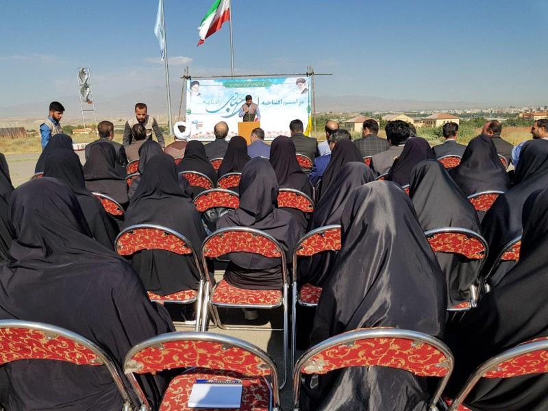 مراسم افتتاحیه اردوهای جهادی دانشگاه محقق اردبیلی+تصاویر